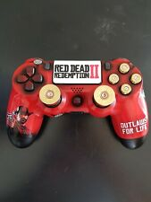 PS4 Dualshock 4 Controller - Red Dead Redemption 2 Edition - Custom