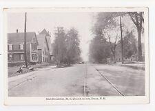 Derry,New Hampshire,East Broadway & M.E.Church,Rockingham Co.c.1909