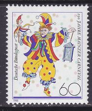 Germany 1544 MNH 1988 Mainz Carnival 150th Anniversary Issue