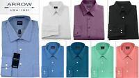 Mens Shirt Arrow Regular Classic Fit Easycare Long Sleeve