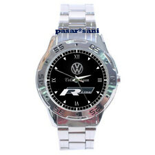VOLKSWAGEN R LINE MUSCLE CAR Custom Chrome Men Wrist Watch Mens Gift Watches
