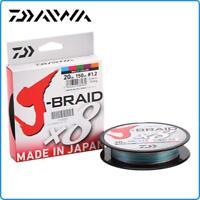 TRECCIATO DAIWA J BRAID X8 0.24mm 300mt 18KG PE3 40LB COLORE MULTICOLOR