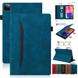 """Leather Wallet Stand Case For iPad Air123 Pro 9.7 10.5 5/6th Gen 9.7"""" Mini 12345"""