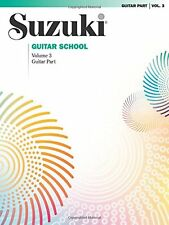 """Suzuki Guitar School"" Music Book Volume 3 Revised Edition Brand New On Sale!"