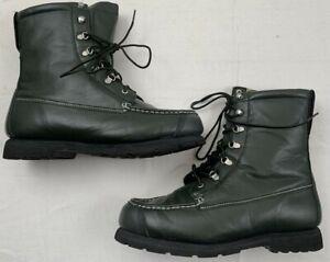 cabela's insulated kangaroo featherlight thinsulate vibram hunting boots 13 ee