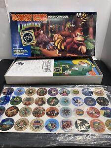DONKEY KONG COUNTRY POG PITCHIN' GAME (Milton Bradley) MB 1995 Nintendo