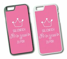iPhone Princess Saying Hard Cover Flip Cover Case Saying