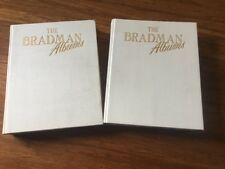 The Bradman Albums by Donald Bradman Hardcover Books