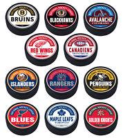 "2021 NHL Reverse Retro Logo Textured "" Raised Letters""  Block Design Hockey Puck"