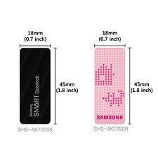 5pcs Samsung Ezon Smart Door Lock RF Card Key Tag 13.56MHz StardshipColor Random