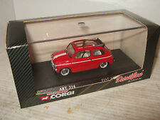 Detail Platinum Cars, Art 314,1965 Fiat 600 D, Cabrio Version in 1:43 Scale
