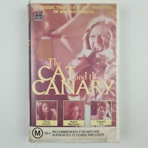 The Cat and the Canary VHS Tape - Thriller - TRACKED POST