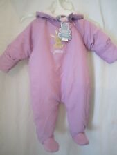 NEW CHILD OF MINE CARTERS GIRL SIZE LARGE WINTER SNOWSUIT...
