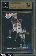 1992-93 Upper Deck #1 Shaquille O'Neal Magic RC Rookie HOF BGS 9.5 GEM MINT