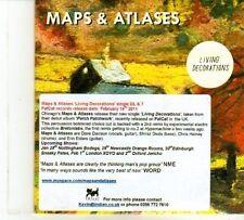 (DP520) Maps & Atlases, Living Decoration - 2011 DJ CD