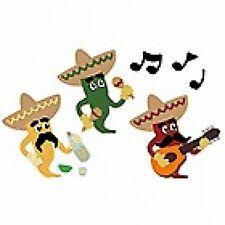 "Quickutz/Lifestyle Crafts C-0247-S-REV  ""Fun Chili Pepper"" 4x4"" Die CUSTOM DIE"