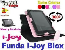 "FUNDA TABLET i-JOY BIOX 7"" UNIVERSAL GIRATORIA AJUSTABLE ijoy"
