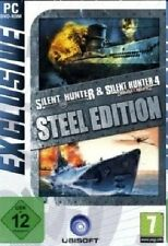 Silent Hunter 3 & 4 steel Edition (pc) - NEUF & immédiatement