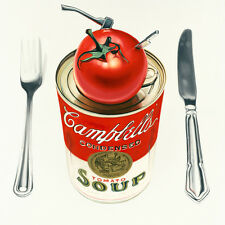 Drew Darcy-WARHOL, con la mannaia e il coltello, in cucina-LIMTED EDITION