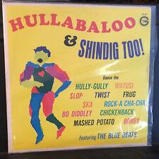 The Blue Beats HULLABALLO SHINDIG Golden LP 147 VINYL  Disc Record High Fidelity