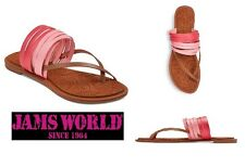 JAMS WORLD   ONO Multi Strap Thong Slippers Sandals Flip Flops   Size 7