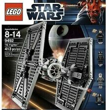 LEGO Star Wars IMPERIAL TIE FIGHTER (9492) Pilot, Death Star Trooper -NEW SEALED