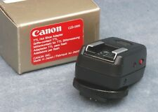 CANON TTL HOT SHOE ADAPTER, NEW OLD STOCK - FREE USA SHIPPING