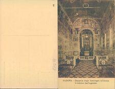 PADOVA - CAPPELLA DEGLI SCROVEGNI ALL'ARENA INTERNO DALL'INGRESSO(rif.fg. 10027)