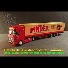 Camion Miniature Cirque PINDER Atelier Mécanique 1/87 HO