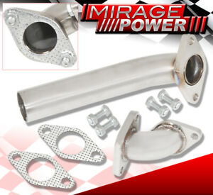 For Ford 35mm/38mm Turbo Wastegate Flange Dump Tube Piping Kit Elbow + Gasket