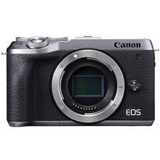 Canon EOS M6 Mark II Camera Body 32.5 MP 4K Compact Mirrorless (Silver) 3612C001