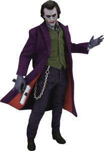 Batman the Dark Knight Joker Heath Ledger action figure Beast Kingdom Sideshow