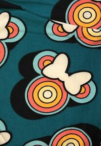 NWT LuLaRoe Disney Leggings OS Minnie Mouse Bow 113231