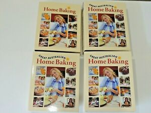 Great Australian Home Baking Recipe Card Collection in 4 Binders (incomplete)