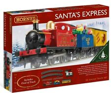 "New Release Hornby 00 Gauge ""Santa's Express"" 2019 Train Set. ."
