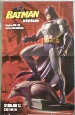 BATMAN STATUE Promo poster, Jim Lee, 17x22, 2003, Unused, more Promos in store