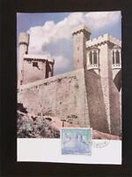 SPAIN MK 1966 CASTILLO BURG CASTLE MAXIMUMKARTE CARTE MAXIMUM CARD MC CM c5434