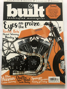 Built Handcrafted Motorcycles Magazine - Issue 31