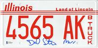 DANIEL STERN SIGNED AUTO 'HOME ALONE' LICENSE PLATE MARV BECKETT BAS COA 20