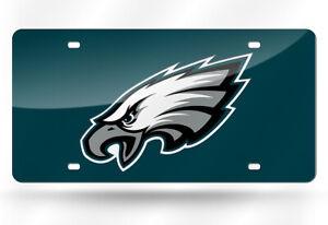 Philadelphia Eagles Mirror Look LASER License Plate