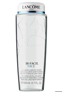 NEW LANCOME Bi-Facil Face Bi-Phased Micellar Water Makeup Remover Cleanser 6.7oz