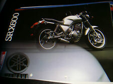"Yamaha  SR X 600      - brochure -prospekt  "" ITA"""
