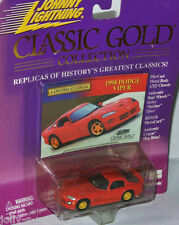 Classic Gold - 1998 DODGE VIPER - red 1:64 Johnny Lightning