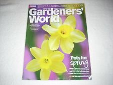 Gardeners World Magazine March 2017 Pots for Spring Subscriber Edition
