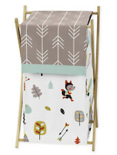 Kids Childrens Clothes Laundry Hamper For Sweet Jojo Outdoor Adventure Bedding