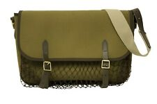 Large Bisley Canvas Leather and webbing Game Bag Brand New