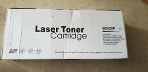 Laser Toner Cartridge B2420P noir pour imprimante Brother *NEUF*