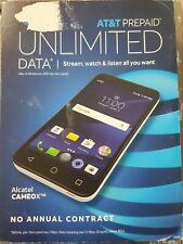 Alcatel Cameox 5044R -16GB - Arctic White (AT&T) Smartphone