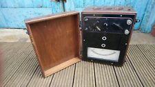 Large Vintage Pullin Amp, Volt Watt Meter 1954