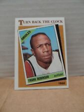 1986 Topps Tiffany Collection #404_Frank Robinson _7.0
